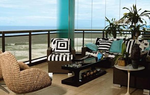 Como montar uma sala de estar na varanda do apartamento-9