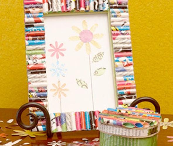 4-Como fazer porta-retrato para decorar