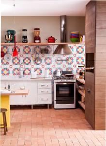 Churrasqueira na cozinha modelos 013
