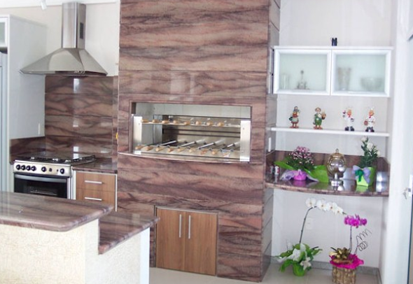 Churrasqueira na cozinha modelos-12