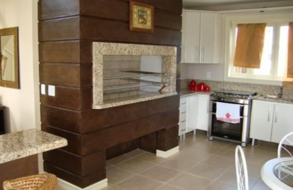 Churrasqueira na cozinha modelos-4