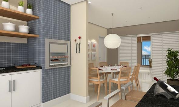 Churrasqueira na cozinha modelos-5