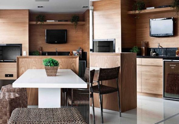 Churrasqueira na cozinha modelos-9