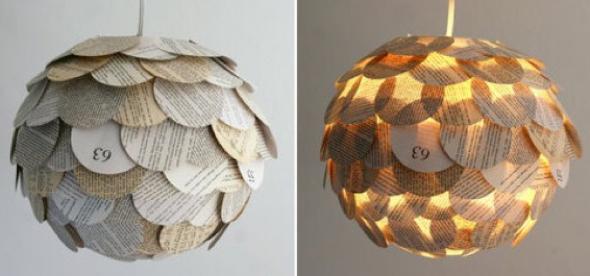 10-Como montar uma luminária pendente reciclável