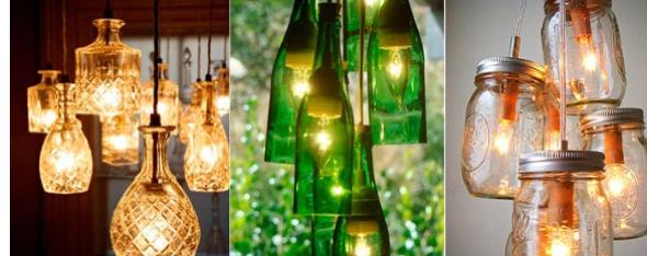 5-Como montar uma luminária pendente reciclável