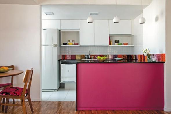 Bancada para cozinha branca 002