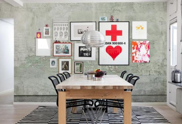 Como fazer arranjos de quadros nas paredes-6