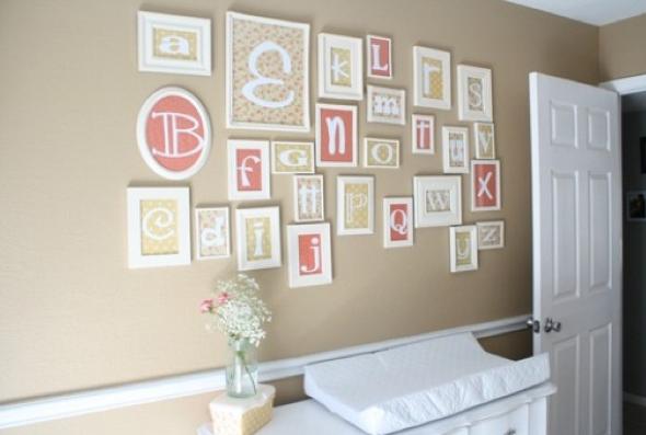 Como fazer arranjos de quadros nas paredes-8