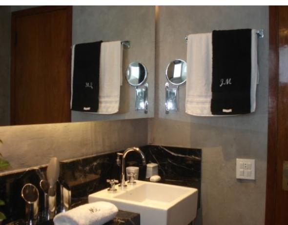 Decoração em concreto aparente em casas e apartamentos-6