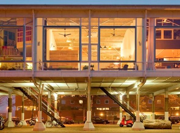 Transformar uma antiga fábrica em uma casa-7