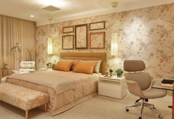 1-Usar luminárias pendentes no quarto