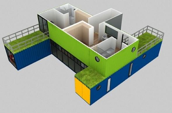 4-Casas de container