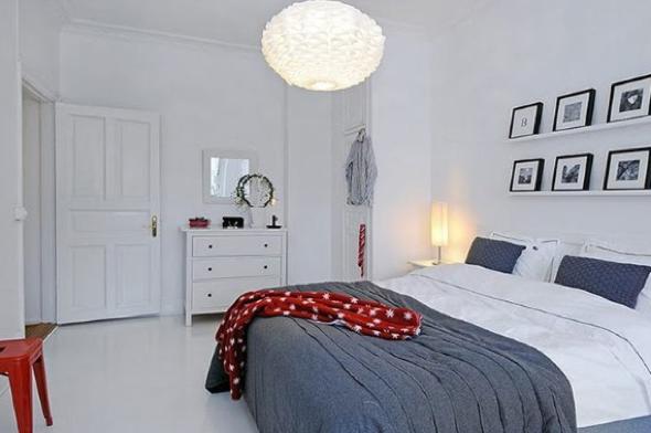4-Usar luminárias pendentes no quarto