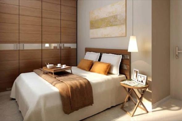 6-Usar luminárias pendentes no quarto