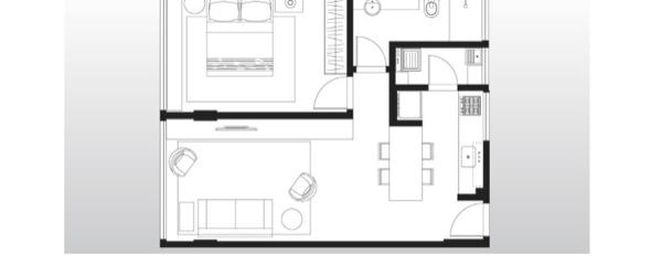 7-Apartamentos com planta livre