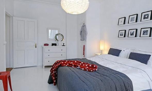 9-Usar luminárias pendentes no quarto