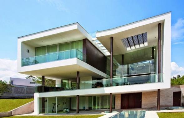 1-fechadas de casas com vidros