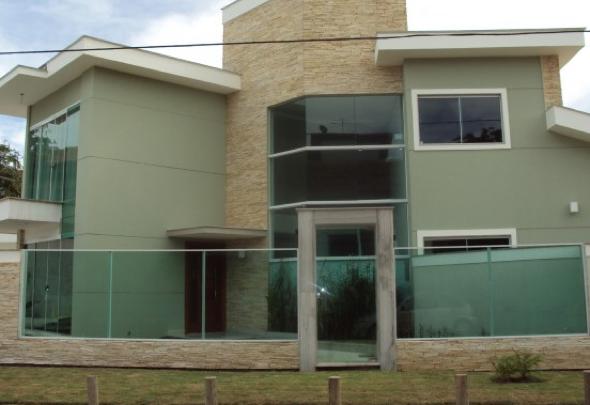 Fachadas de casas em cores claras 15 fotos e dicas da for Cores modernas para fachadas de casas 2013