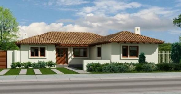 13-Fachadas de casas em cores claras a nova tendência