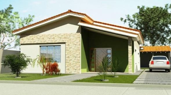 14-Fachadas de casas em cores claras a nova tendência