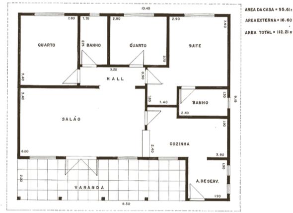 17-plantas de casas com 4 quartos