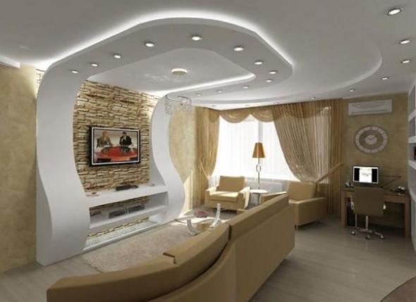 2-Projetos em drywall para salas