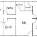 26-plantas de casas com 4 quartos