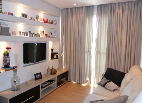 4-Projetos em drywall para salas