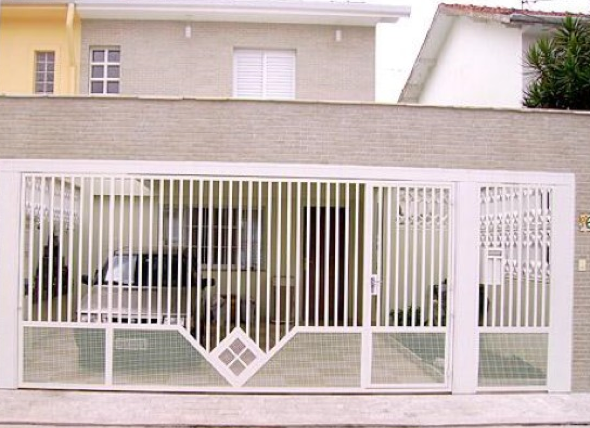 5-Fachadas de casas em cores claras a nova tendência