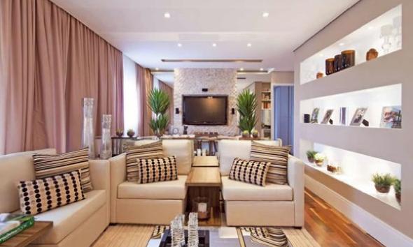 7-Projetos em drywall para salas