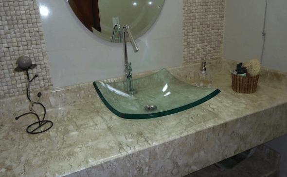 Bancada para banheiro os melhores modelos 13
