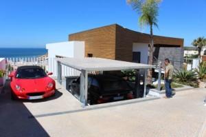 Garagem que se esconde no chão 002