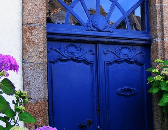 16-Portas coloridas para casa