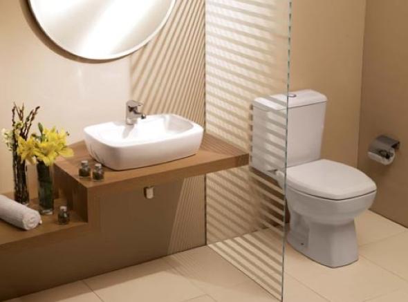 2-Caixa acoplada ou válvula de descarga de parede no banheiro, qual usar