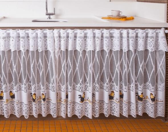 14 cortinas para pia de cozinha e banheiro e id ias for Ver modelos de cortinas