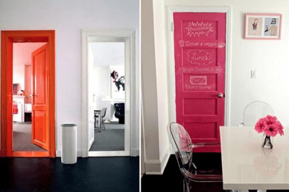 5-Portas coloridas para casa