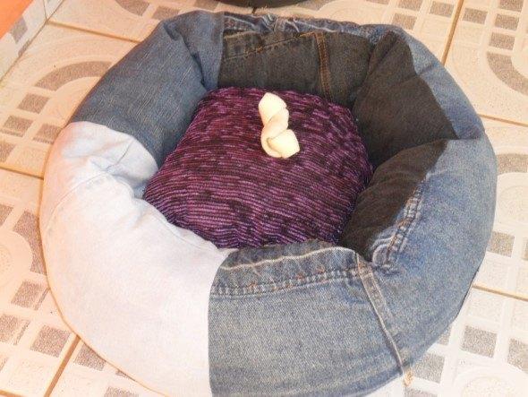 Amado Como criar uma cama para cachorro: 12 idéias criativas e recicláveis WP08