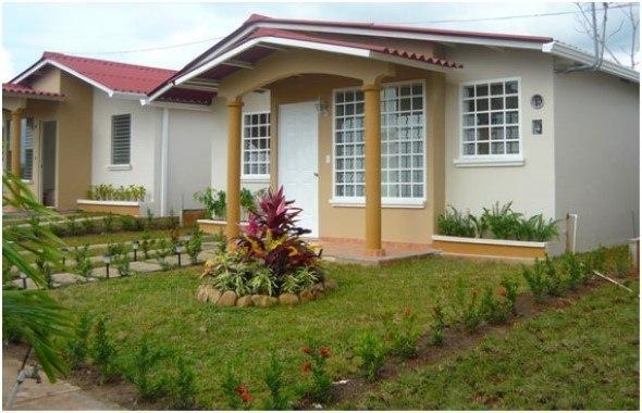 Fachadas de casas simples 4 dicas de projetos mais 15 fotos for Jardines pequenos para casas