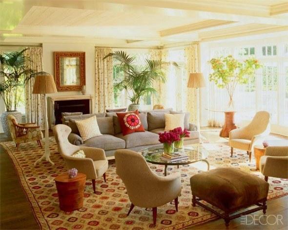 Salas com plantas interesting salas planta superior with for Casas decoradas con plantas naturales