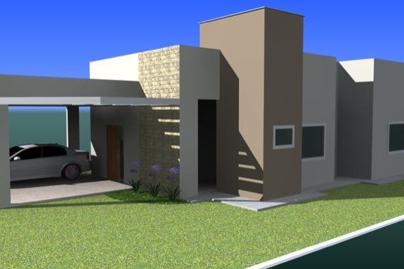 Como pintar fachada de casa em 8 passos e dicas for Pintura casa moderna