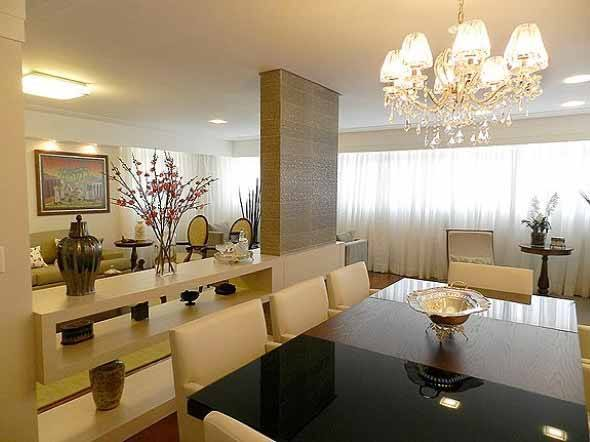 Sala De Estar E Tv Conjugadas ~ Veja modelos de lustres para sala de jantar ;