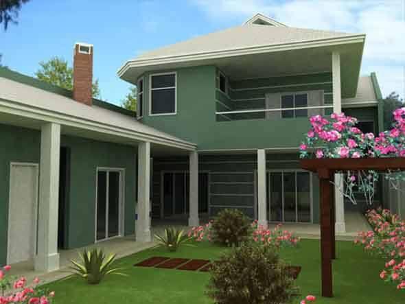 Pintar fachada casa pin decoracion de exteriores casas - Fachadas de casas pintadas ...