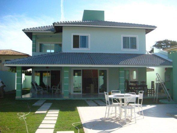 Fachada verde para casas a nova tend ncia 15 modelos e for Cores modernas para fachadas de casas 2016