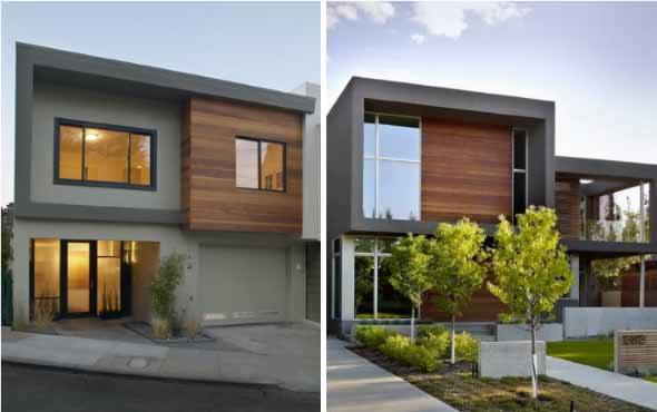 15 fachadas de madeira para casa e im veis comerciais for Fachadas de oficinas modernas