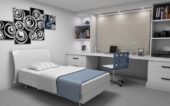 Medida ideal para um dormitório para casal e solteiro ~ Quarto Solteiro Medidas