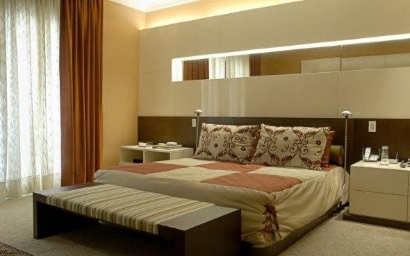 Medida ideal para um dormitório para casal e solteiro ~ Quarto Casal King Size