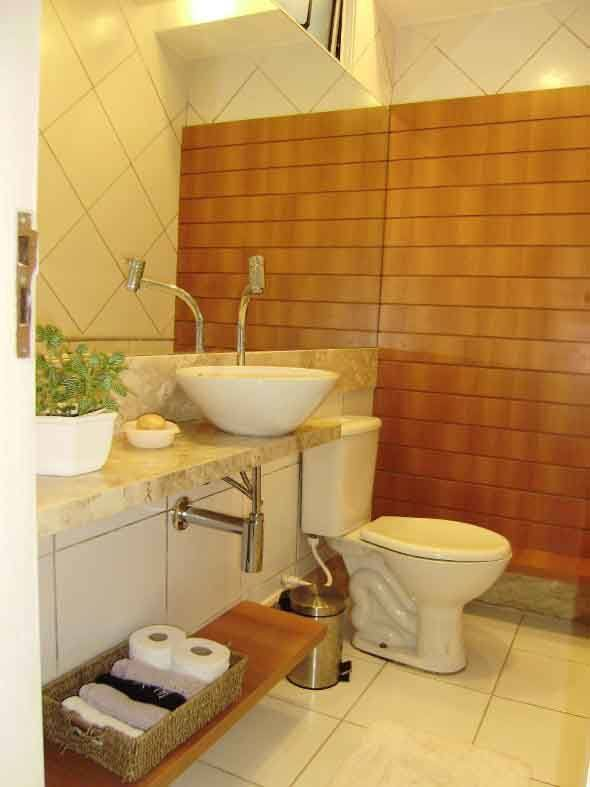 Tamanho ideal de um lavabo para sua casa e 4 dicas de for Lavabos pequenos medidas