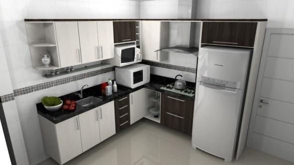 Tamanho ideal de uma cozinha e altura de pia e fog o for Medidas camas americanas
