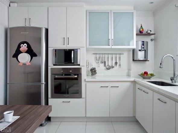 Tamanho ideal de uma cozinha e altura de pia e fogão # Cozinha Pequena E Quadrada