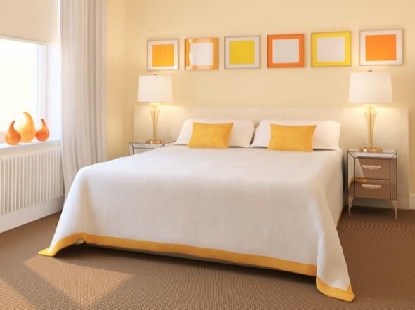Cores ideias para pintar o quarto do casal e 14 lindos  ~ Cores Para Pintar Quarto E Sala